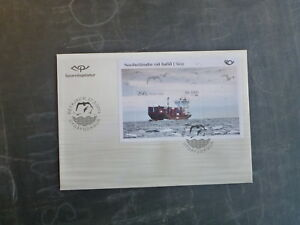 2014-ICELAND-NORTH-BY-SEA-STAMP-MINI-SHEET-FDC-FIRST-DAY-COVER