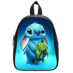 Custom Lilo Stitch Custom Kid's School Bag Backpack(Large<wbr/>)