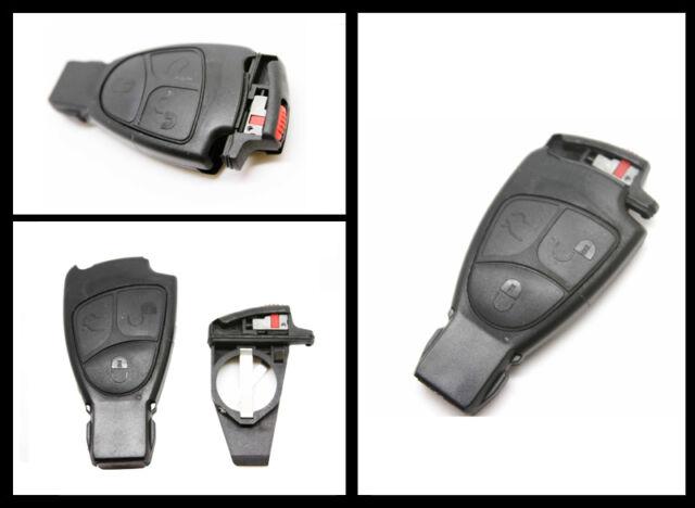 for Mercedes Benz M S C E CLS CLK SLK 3 Button Remote Key Shell + battery holder