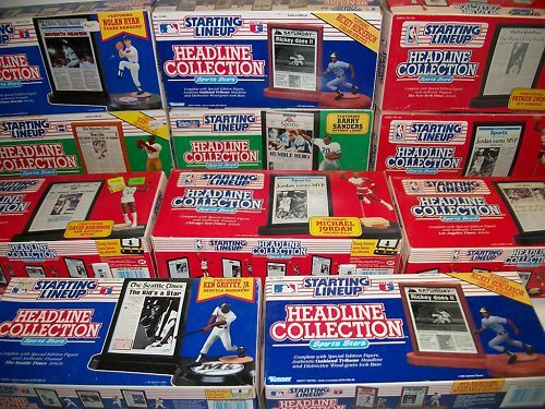 11 New Starting Lineup Headline Collection Figures