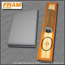 SERVICE KIT for MERCEDES C200K W203 2.0 16V FRAM OIL AIR CABIN FILTERS 2000-2002