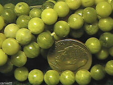 6mm Nephrite Jade Round Beads (60 +/- beads per strand)