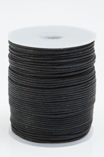 Bastelschnur gewachste Baumwollschnur Kordel, Schmuckband