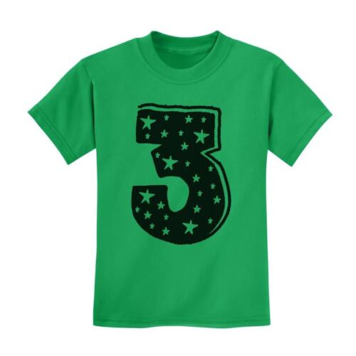 I/'m 3 Superstar Kids T-Shirt Boy Girl Three Years Old Birthday Gift Idea