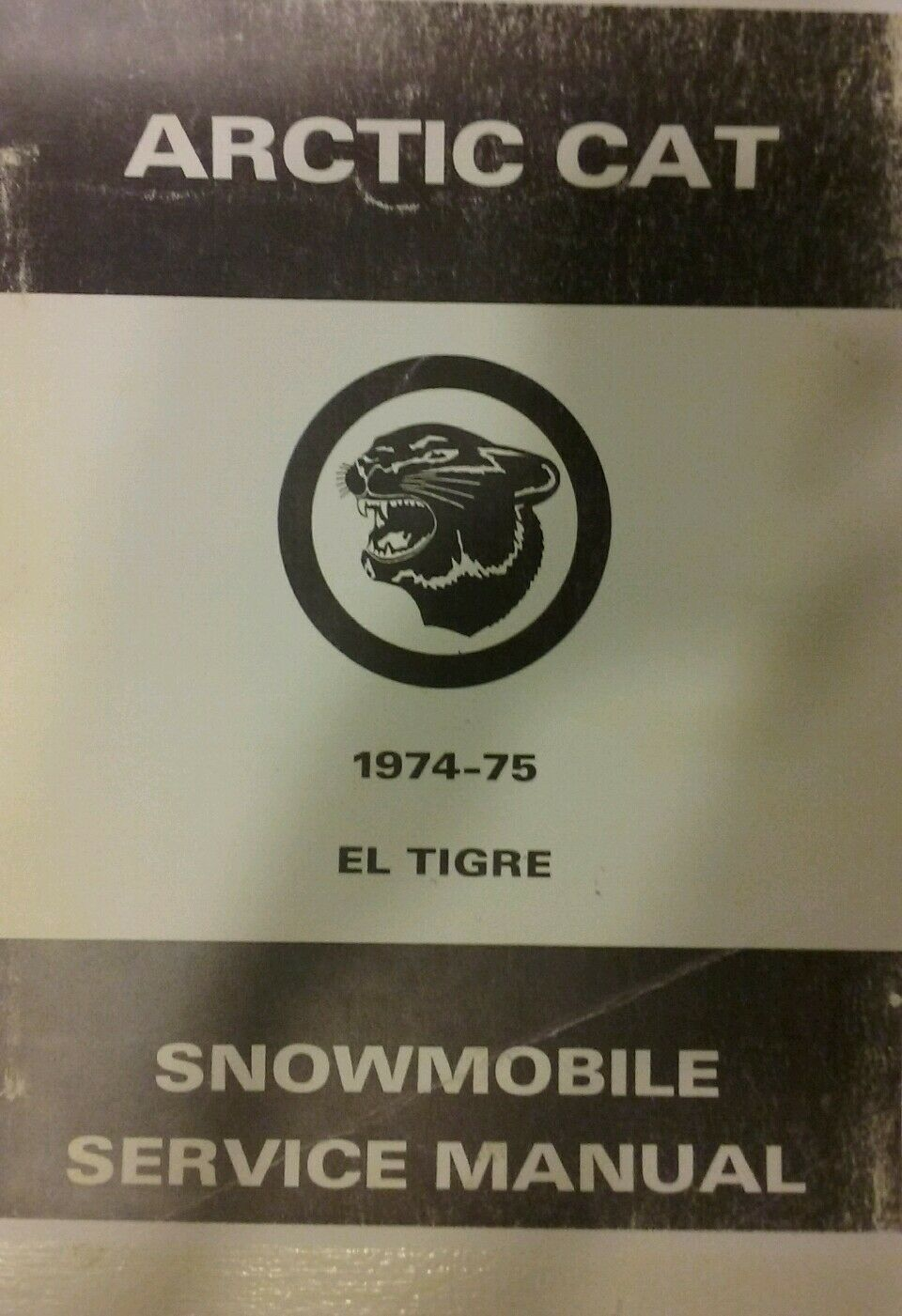 Arctic Cat El Tigre Snowmobile Service & Parts Manual 340 400 440 Sled 392pg BIG