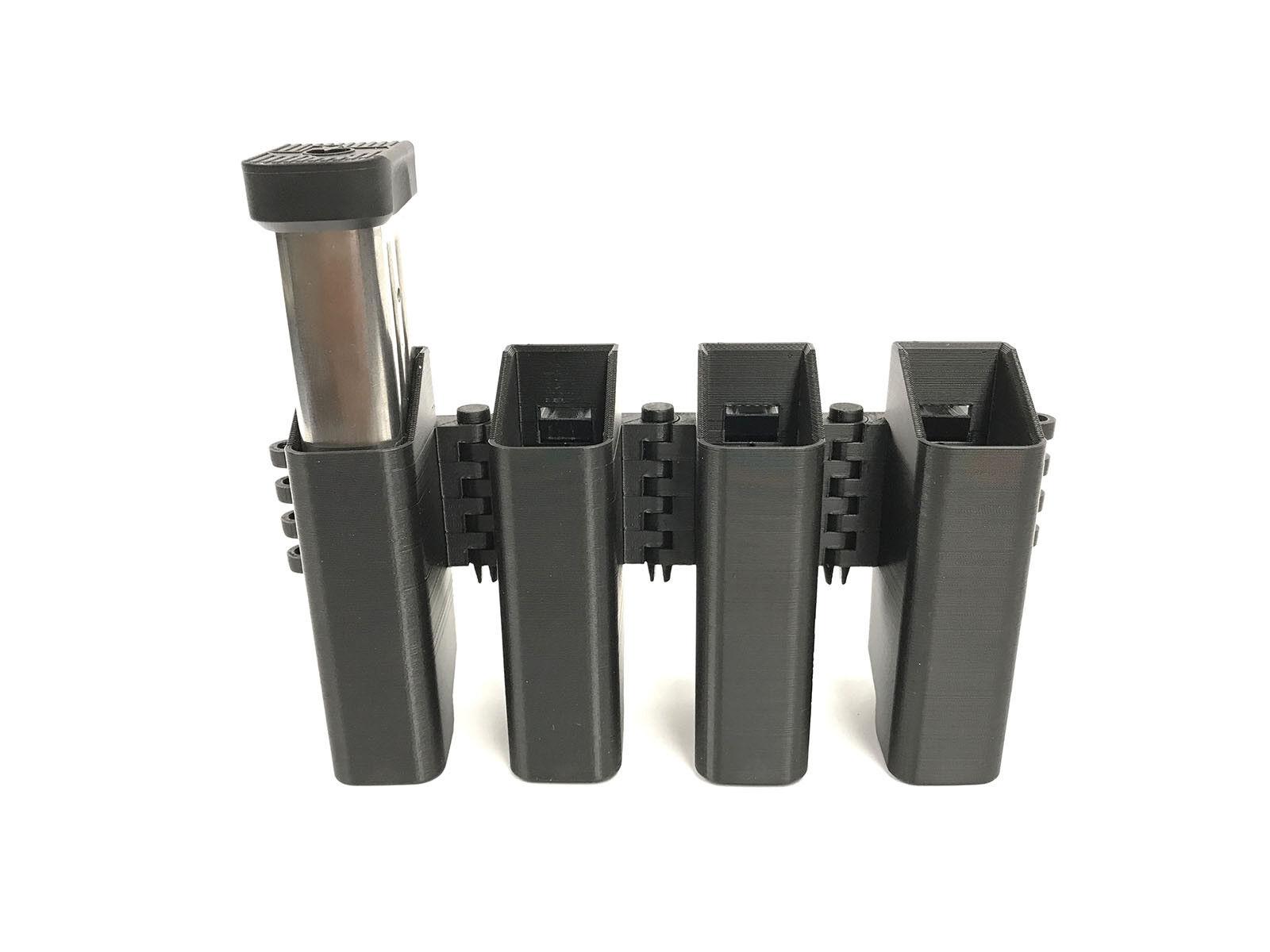 EAMP Enforcer - 2011 9mm Quad Mag Pouch - 0460-D