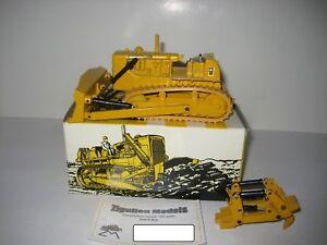Amical Caterpillar D 9 G Bouteur Ripper #2871.2b Conrad 1:50 Neuf Dans Sa Boîte-afficher Le Titre D'origine