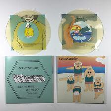 """DJ Douggpound/Sick Animation Split 7"""" Vinyl Record non pound hole dvd tim & eric"""