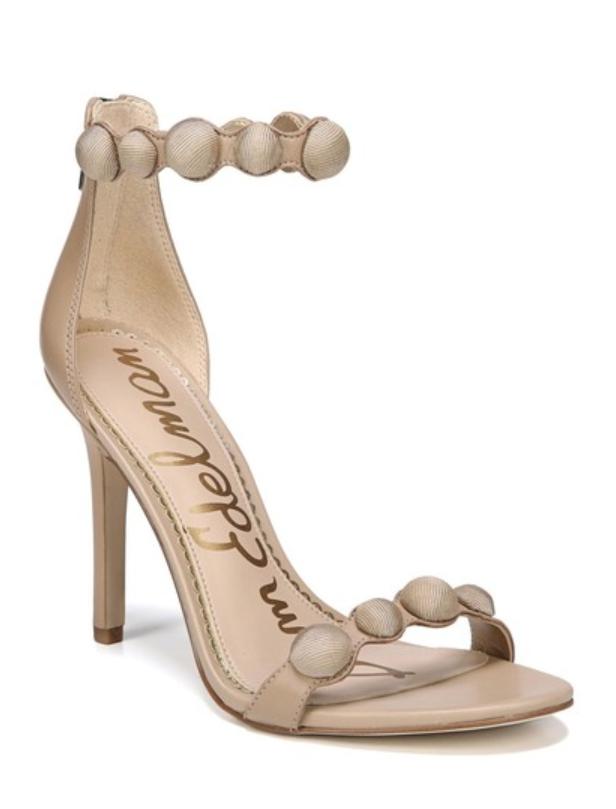 Sam Edelmen Addison donna Nude Embellished Ankle Strap Sandal Sz Sz Sz 6.5 3507 c40464