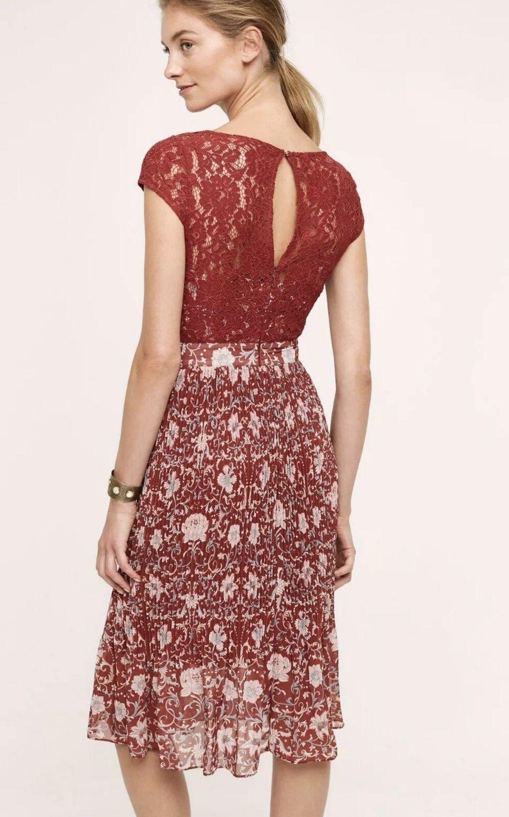 40b782fba8ed Anthropologie Plenty by Tracy Reese Arcadia Midi Dress Size 6 6 for sale  online | eBay