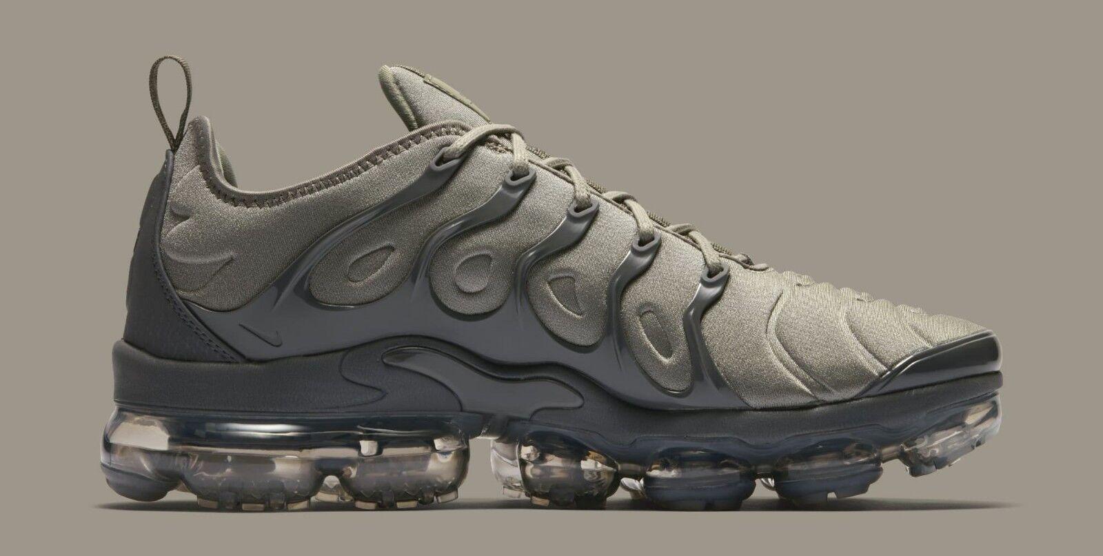 Nike air vapormax plus Größe 11,5.dunkle stuck stuck stuck dunkelgrau.at5681-001.97 95 57f347