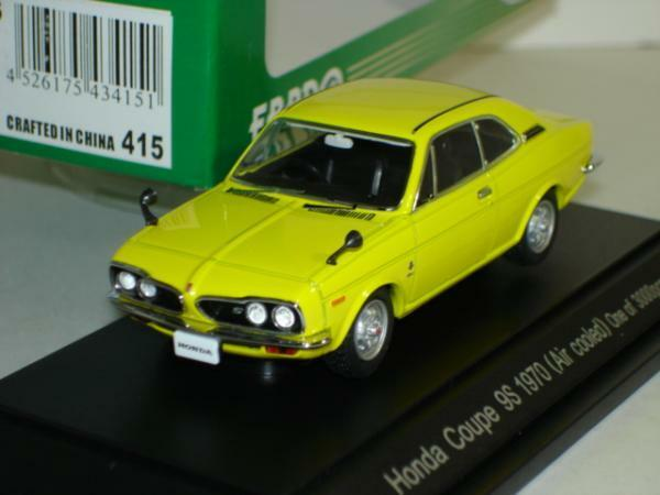 Ebbro 1 43 Honda Coupe 9 1970 Yellow from Japan