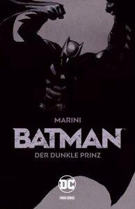BATMAN-DER-DUNKLE-PRINZ-HC-GESAMTAUSGABE-1-2-Variant-Hardcover-ENRICO-MARINI