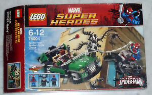 Lego Super Heroes Réf 76004 Spider Cycle Chase Spiderman Complet Avec Notice