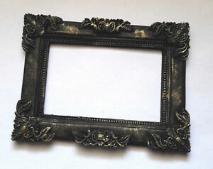 Gothic-Photo-Frame-Black-Classic-Style-Size-13x10-m-5-8x3-9in-Worldwide-Delivery