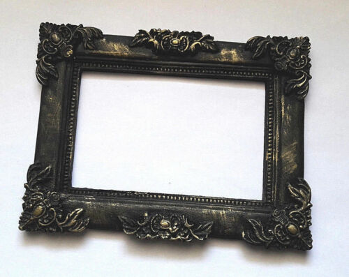 Full Sale Gothic Photo Frame Black Classic Style size 13x10сm 5.8x3.9in