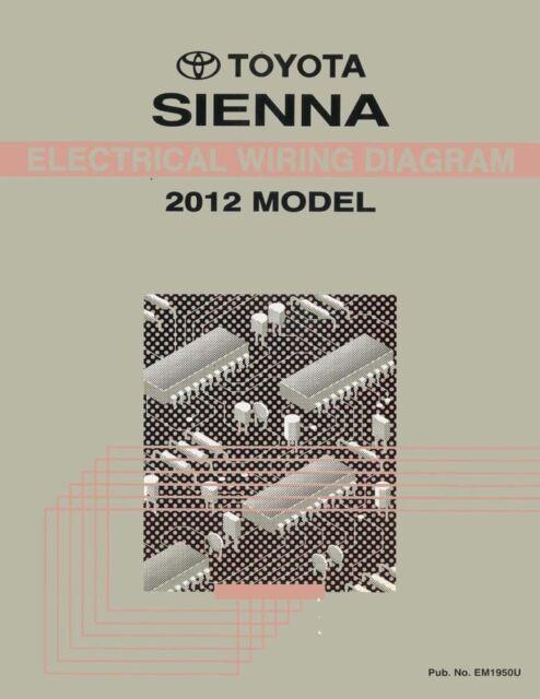 2012 Toyota Sienna Wiring Diagrams Schematics Layout