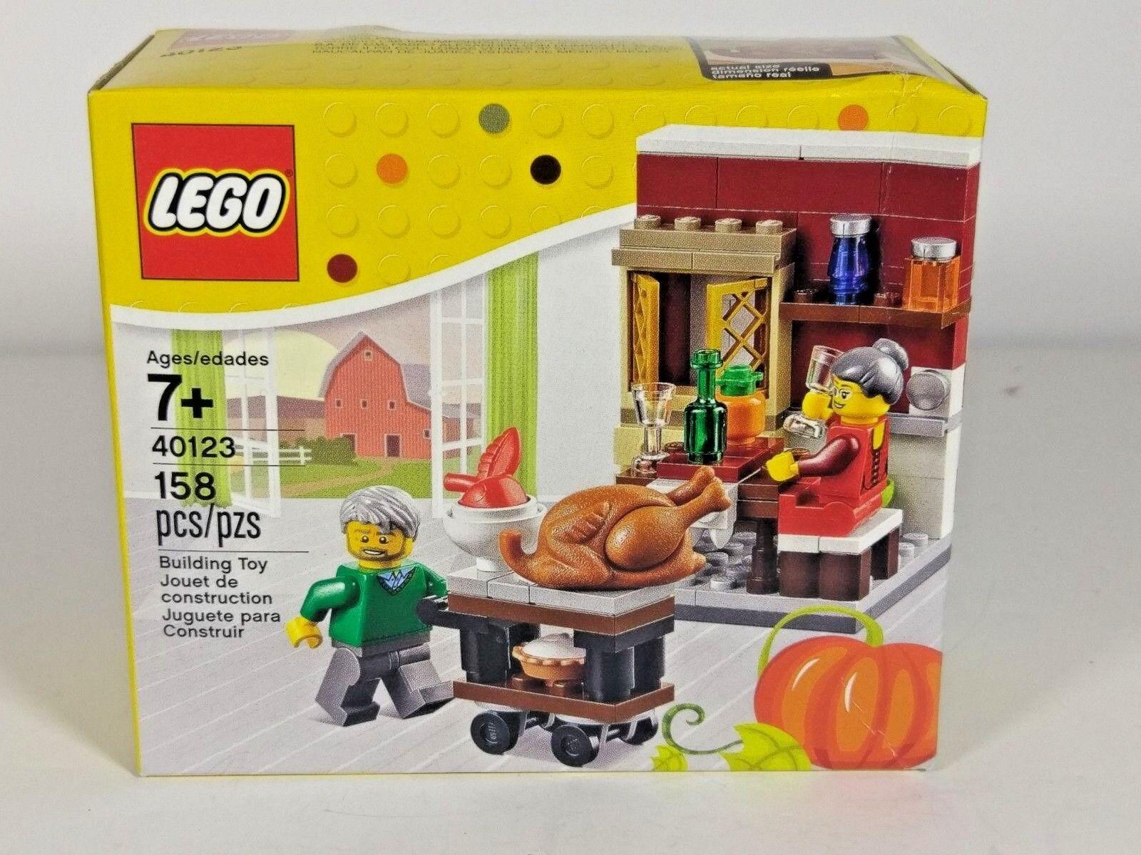 LEGO 40123 Thanksgiving Feast Holiday Seasonal Retired Set Brand Brand Set NEW 4579b3