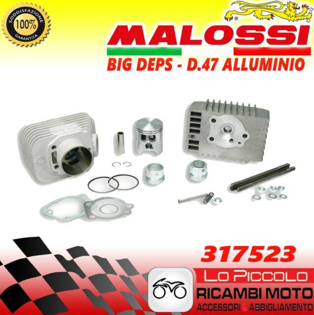 Groupe Thermique Cylindre Malossi Piaggio si Bravo Grillo D47 SP10 Big Deps
