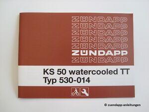 Bedienungsanleitung-Zuendapp-KS-50-Watercooled-TT-Typ-530-014-Schaltplan