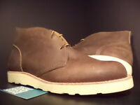 Yuketen Chuck Chukka Boot Dark Brown Leather Vibram 2213 Ds Sz 12