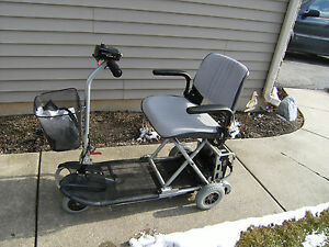 Mobility-Scooter-Ultra-Lite-355-Fold-N-Go-Mobile-Adjustable-WITH-LIFT-FOR-AUTO