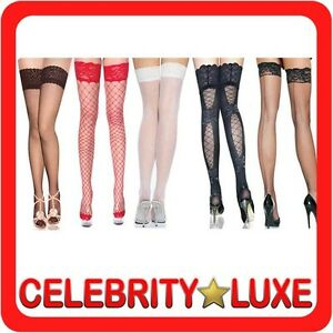 New-Sexy-Thigh-High-Stockings-Socks-Fancy-Dress-Costume-Party