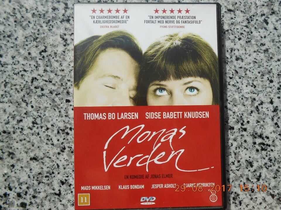 Monas Verden, instruktør Mads Mikkelsen, DVD