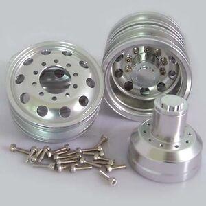 Billet-Machined-Alloy-Rear-Wheel-for-Tamiya-1-14-Scale-Semi-Truck
