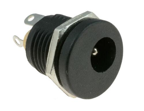 2.1mm x 5.5mm Rund Panel Halterung Buchse Sockel Dc Anschluss Jack Stecker