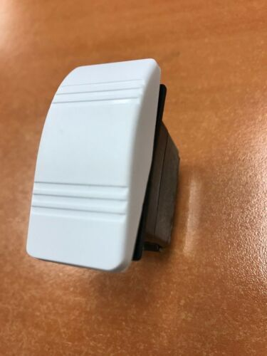 CARLING CONTURA ROCKER SWITCH MOM ON//OFF//MOM ON WHITE VLD1 SOOB DPDT MARINE BOAT