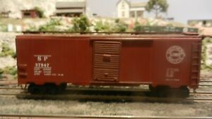 Athearn-HO-Vintage-Lithographed-Side-40-039-Boxcar-Southern-Pacific-Exc