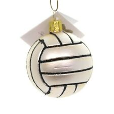 CHRISTMAS ORNAMENT GLASS FROM THE CZECH REPUBLIC....VOLLEYBALL