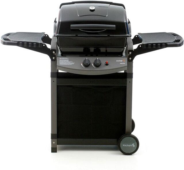 Sochef G20512 Barbecue a Gas con 2 Bruciatori – Nero/Grigio Offerte e sconti
