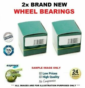 2x Front Axle WHEEL BEARINGS for VOLVO V60 D4 AWD 2012->on
