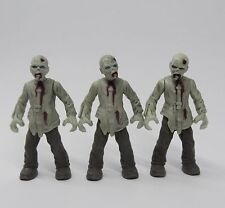 lot 3 Mega Bloks Call of Duty Zombies Outbreak the Walking Dead action figure Q3