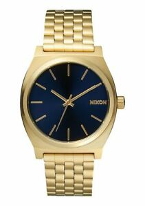 OROLOGIO-Nixon-Time-Teller-A0451931-watch-acciaio-UNISEX-dorato-oro-blu-gold