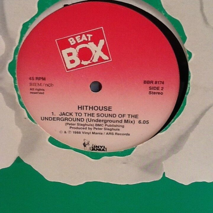 """Maxi-single 12"""", Hithouse, Jack To The Sound Of The"""