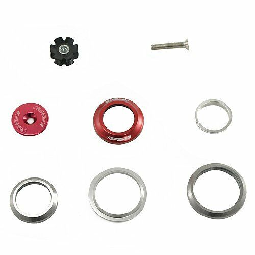 """FSA Integrated Headset ORBIT C-40 1-1//8/"""" Red 1.5/"""" Tapered"""
