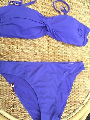 """ocean Club"" Donna Royal Purple Bikini Sz 8-mostra Il Titolo Originale Superiore (In) Qualità"