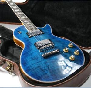 Top-Quality-LP-Custom-Electric-Guitar-Ebony-Fingerboard-Figured-Maple-Veneer