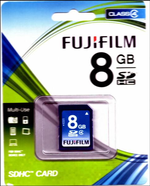Fujifilm 8 Go Class 4-sdhc Carte - (p10n079840a)