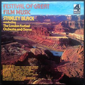 FESTIVAL-OF-GREAT-FILM-MUSIC-Rare-3-LP-Boxset-Stanley-Black-Soundtracks-Scores