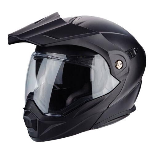 Casco helmet Scorpion Adx-1 nero Honda Africa Twin Dominator Varadero Transalp