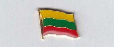 Litauen Pin Badge Anstecker Anstecknadel Flaggenpin Button Sticker emailliert