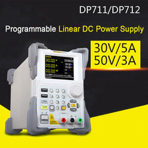 DP711/DP712 Programmable Linear DC Power Supply (single channel,30V