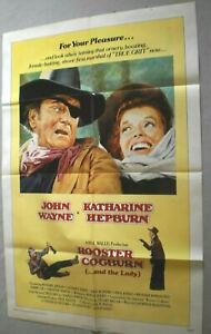 Filmplakat,PLAKAT,ROOSTER COGBURN.and the Lady,JOHN WAYNE,KATHARINE HEPBURN-33