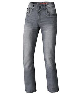 Held-Crane-Motorradjeans-Groesse-32-Grau-Stretch-Jeans-Bikerjeans