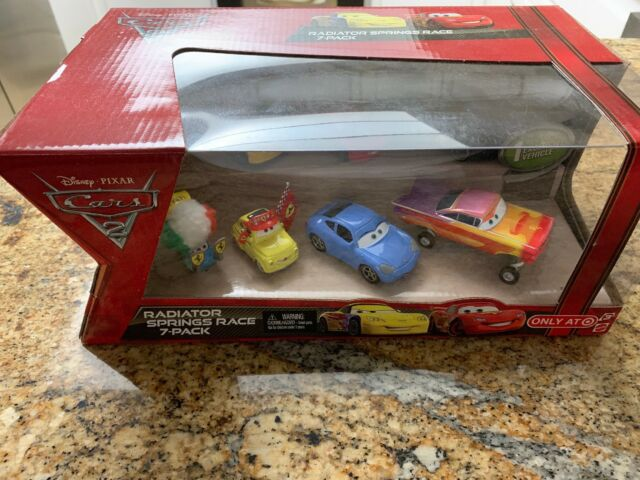 Awesome Disney Cars Cars 2 Multi Packs Radiator Springs Race 7 Pack Diecast Car Set New Download Free Architecture Designs Scobabritishbridgeorg