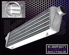 2.5'' Polished Aluminum Front Mount Intercooler 27'' x 7'' x2.5'' Universal FMIC